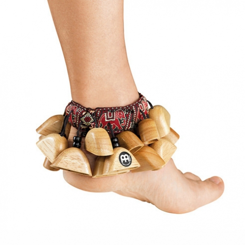 [드럼코리아 1599-3867] Meinl - 발목래틀 (Foot Rattle)  Rubber Wood  Natural  FR1NT