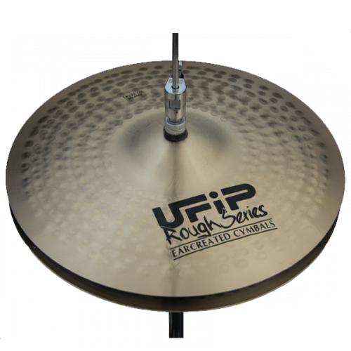 "[드럼코리아 1599-3867] UFIP ROUGH SERIES 14"" HI-HAT"
