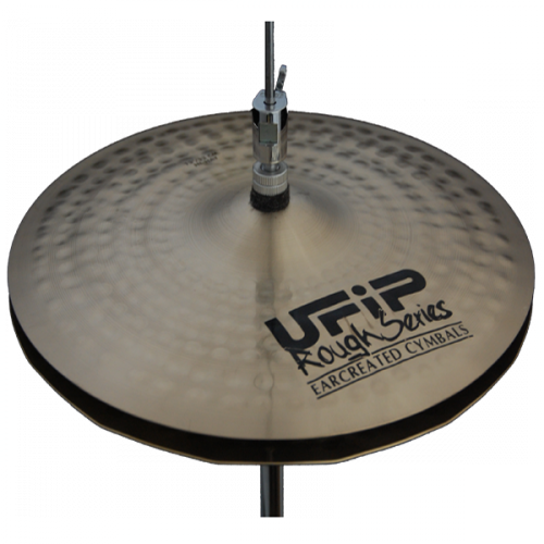 "[드럼코리아 1599-3867] UFIP ROUGH SERIES 14"" WAVE HI-HAT"