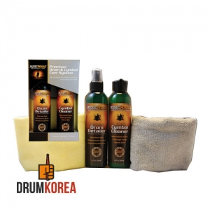 [Music Nomad] Drum Care kit - Premium Drum & Cymbal & Towel 드럼관리용품 팩키지 - MN112