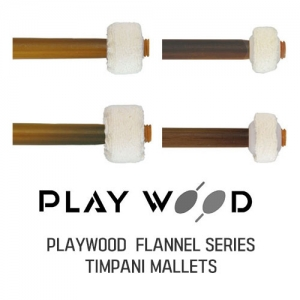 [드럼코리아 1599-3867] PlayWood Flannel Serise Timpani Mallets(TF-1,2,3,4 PRO)