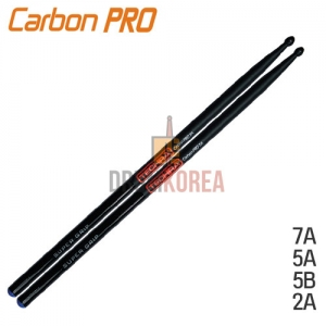 [드럼코리아 1599-3867] Techra - Pairs CARBON PRO Sticks [7A/5A/5B/2B]