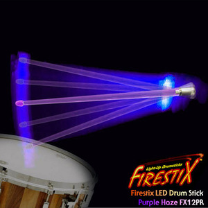 [드럼코리아 1599-3867] Firestix LED Drumstick LED 드럼스틱 FX12PR Purple Haze