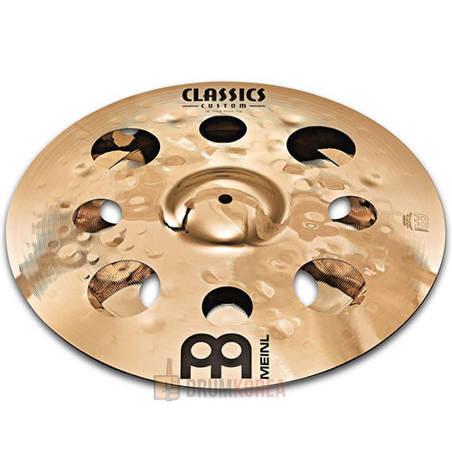 [드럼코리아 1599-3867] Meinl - Classics Custom Trash Stack 심벌