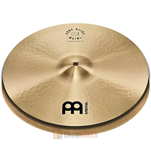 [드럼코리아 1599-3867] Meinl -  Pure Alloy Traditional Hi-Hat 하이햇