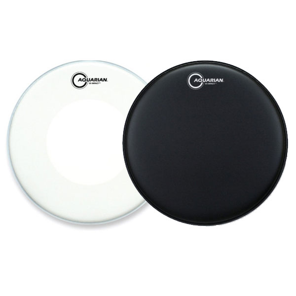 AQUARIAN DRUMHEAD HI IMPACT COATED 14INCH l 아쿠아리안 하이 임팩트 코티드 14인치 - Coated Double Ply(2겹) - 옵션 색상 (HIP)