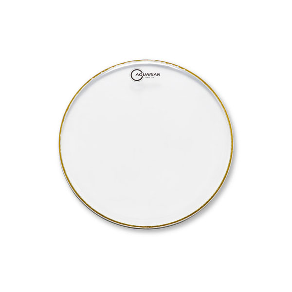 AQUARIAN DRUMHEAD FORCE10 CLEAR l 아쿠아리안 포스10 클리어 - Clear Double Ply(2겹) - 옵션 사이즈선택 (FOR)