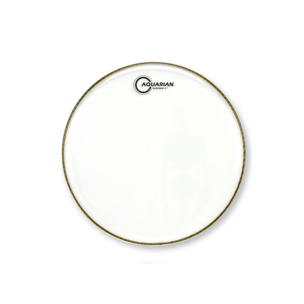 AQUARIAN DRUMHEAD RESPONSE2 CLEAR l 아쿠아리안 리스판스2 클리어 이중피 - Clear Double Ply(2겹) - 옵션 사이즈 선택 (RSP2)