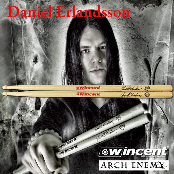 Wincent Daniel Erlandsson (Arch Enemy) 시그네쳐 / W-DES 윈센트 드럼스틱