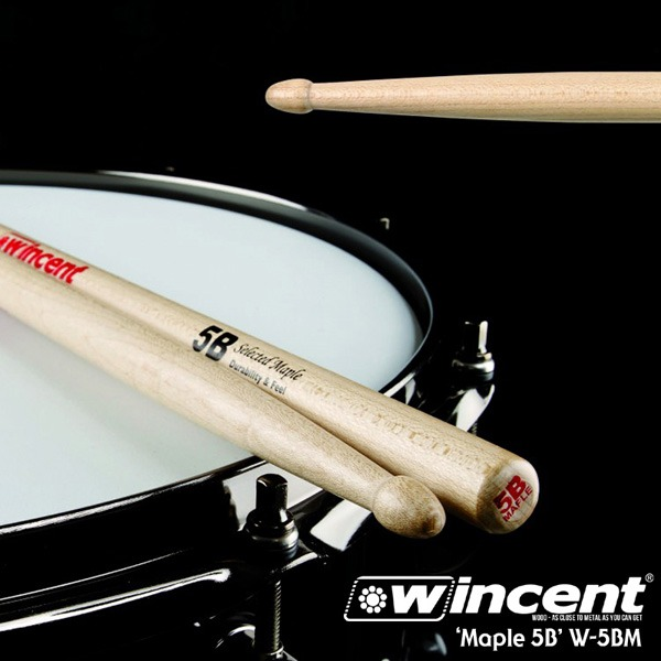 Wincent Maple 5B Drum Stick /W-5BM 윈센트 드럼스틱