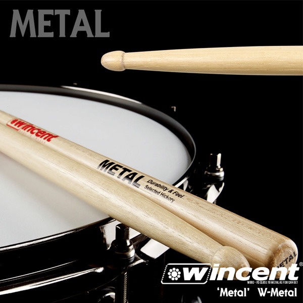 Wincent 'METAL!!' Drum Stick /W-Metal 윈센트 드럼스틱