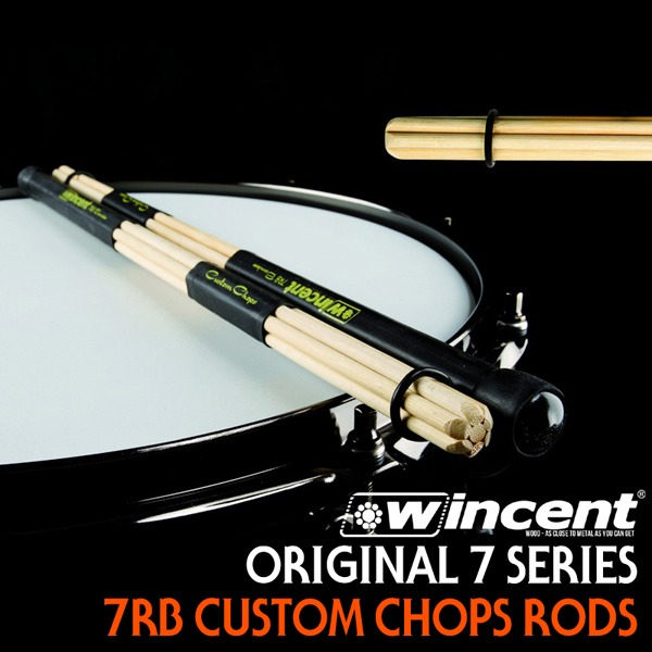 윈센트 로즈 스틱 / Wincent Original 7 Series Rods Stick 'Custom Chops 7RB' (Bamboo/로즈스틱)/ W-7RB
