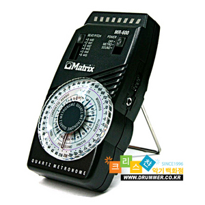 [드럼코리아 1599-3867] Matrix MR-600 metronome