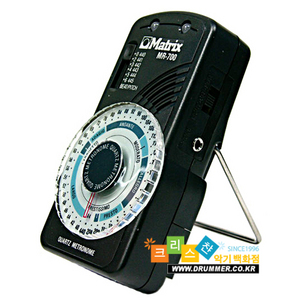 [드럼코리아 1599-3867] Matrix MR-700 metronome