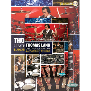 [드럼코리아 1599-3867] Thomas Lang - Creative Coordination & Advanced Foot Technique (Book/DVD/CD Pack)