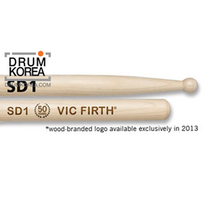 [드럼코리아 1599-3867] Vic Firth - SD1  American Custom GENERAL 메이플 스틱