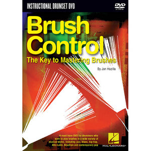 [드럼코리아 1599-3867] (DVD) Brush Control - The Key to Mastering Brushes by Jon Hazilla