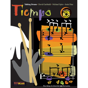 [드럼코리아 1599-3867] Tiempo by David Garibaldi, Michael Spiro, Jesus DiazPlay-Along for Drum set and Percussion