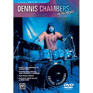 [드럼코리아 1599-3867] Dennis Chambers: In The Pocket (DVD)