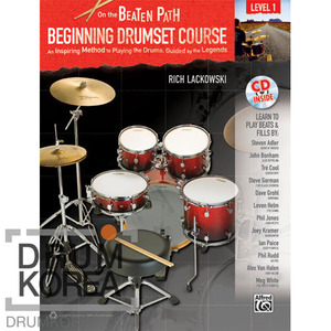 [드럼코리아 1599-3867] On The Beaten Path: Beginning Drumset Course, Level 1