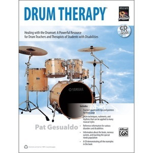 [교본+CD] DRUM THERAPYHealing with the DrumsetA powerful resource for drum teachers and therapist of students with disabilities