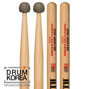 [드럼코리아 1599-3867] Vic Firth - American Classic 5B Chop Out 드럼스틱 5BCO