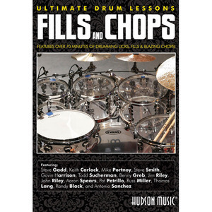 [드럼코리아 1599-3867] [DVD] Fills and Chops