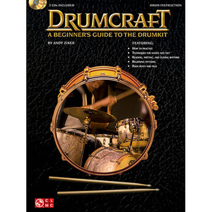 [교본+CD] Drumcraft - A Beginner's Guide to the Drumkit  [02501302]