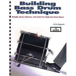 [교본+CD] Building Bass Drum Technique
