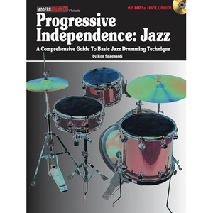 [드럼코리아 1599-3867] [교본+CD] Progressive Independence: Jazz