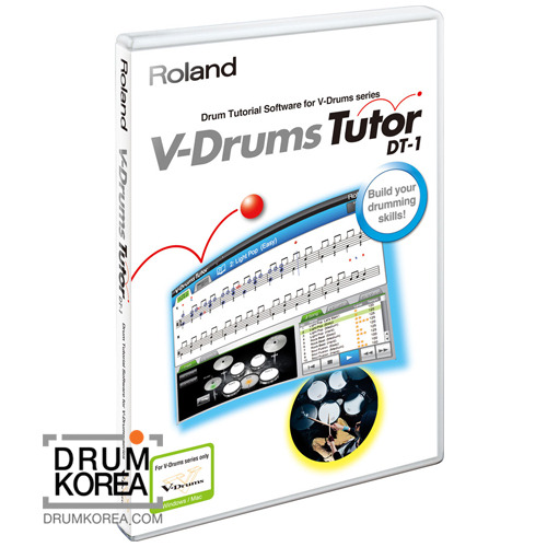 Roland - DT1/ DT-1 Tutor Software 드럼 레슨 프로그램