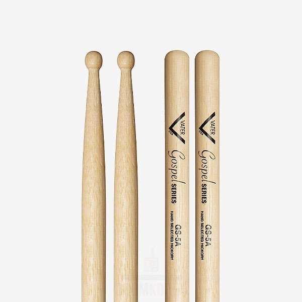 VATER - 5A Gospel Hickory 베이터 5A 가스펠 히코리 드럼스틱 VGS5AW